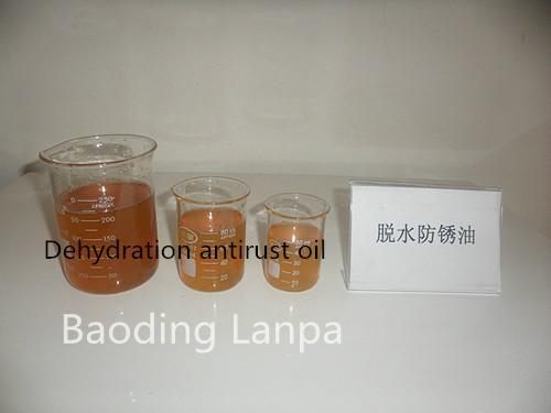 Dehydrated antirust oil